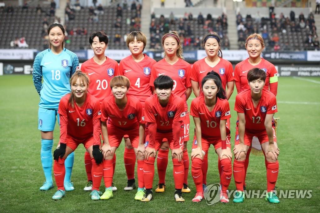 韓国は日本と引き分け サッカー女子アジア杯