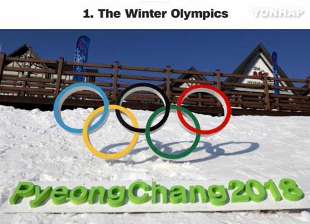 CNN включил зимнюю Олимпиаду в Пхёнчхане в список 18-ти наиболее привлекательных событий 2018 года