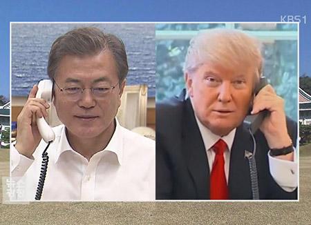 Moon, Trump: Inter-Korean Talks May Lead to Talks between US, N. Korea