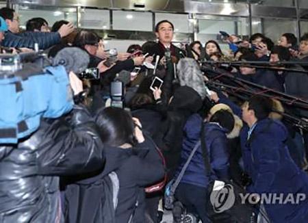 Auslandsmedien berichten prominent über innerkoreanische Gespräche