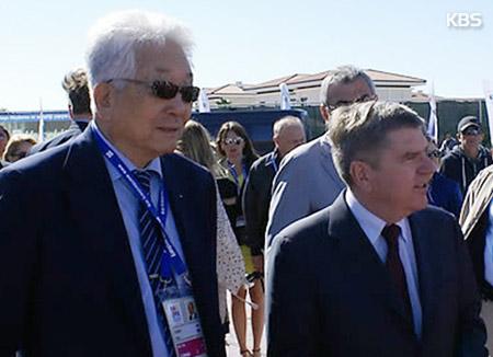 IOC 「北韓に扉開いている」