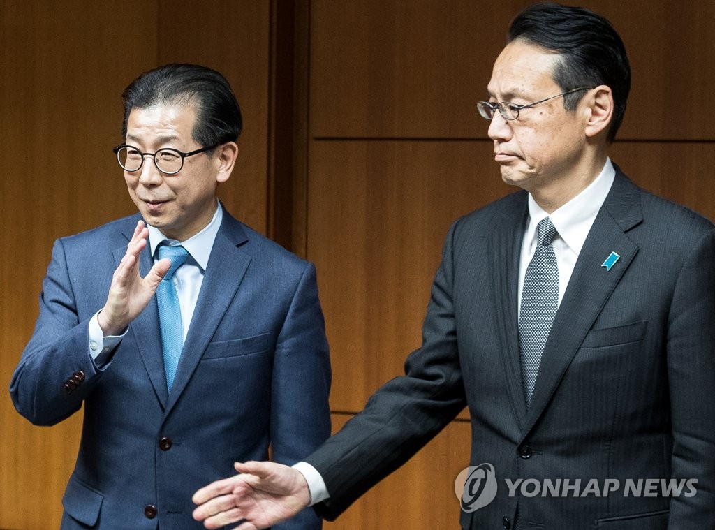 Japan, S.Korea discuss inter-Korean talks