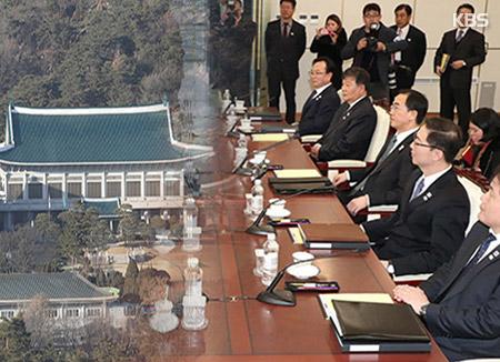 """Phủ Tổng thống : """"Hội đàm liên Triều đã tạo bước đệm mới cho quan hệ hai miền"""""""