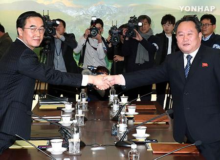 今後の南北対話 合意通り軍事実務会談から