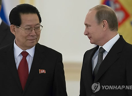 """주러 북한 대사 """"남북관계 개선이 올해 주요 과제"""""""