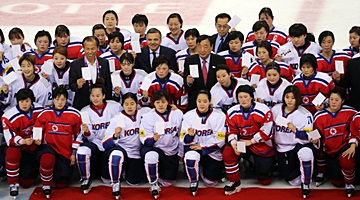 Two Koreas Consider Unified Women's Ice Hockey Team at PyeongChang