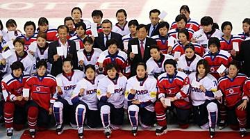 Hàn Quốc chỉ xem xét hợp nhất đội khúc côn cầu trên băng nữ với Bắc Triều Tiên