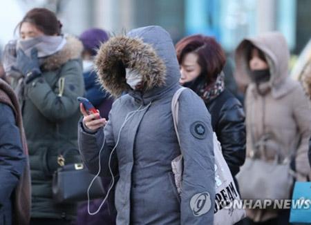 韩国出现今冬最冷天气 首尔-15.1度 铁原-21.6度