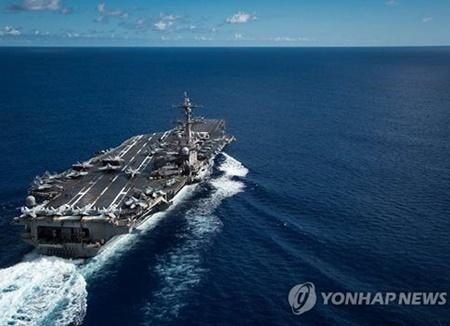 Pyongyang fustige le déploiement d'un porte-avions américain