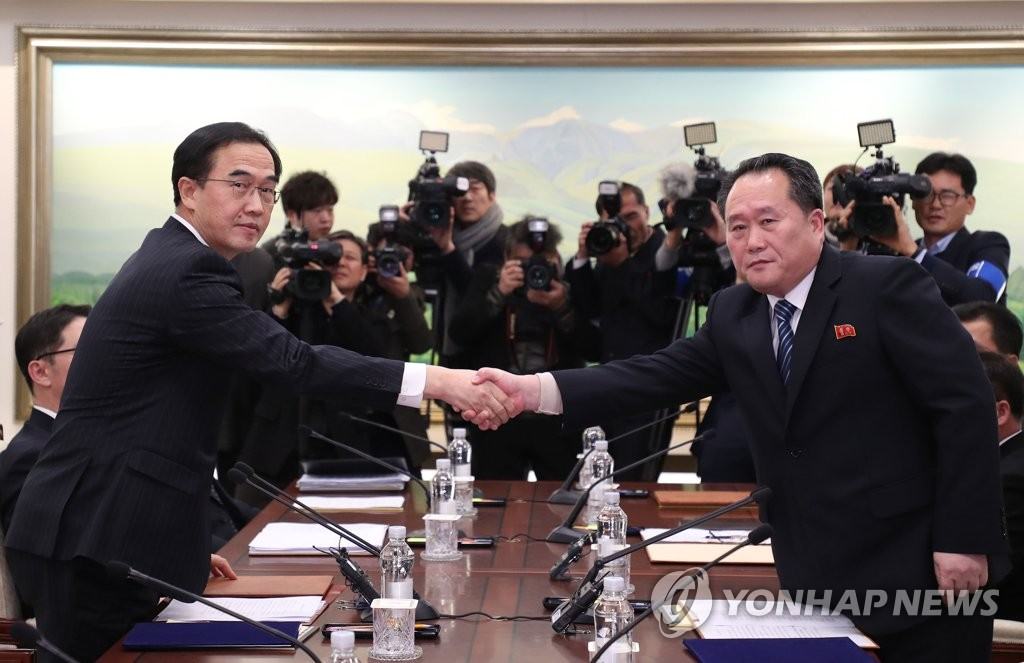 South and North Korea Hold Series of Talks Over a Month
