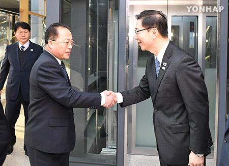 JO de PyeongChang : les deux Corées de nouveau face à face pour discuter de la participation du Nord