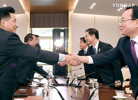 Юг и Север обсудили участие северокорейских спортсменов в зимних Играх в Пхёнчхане