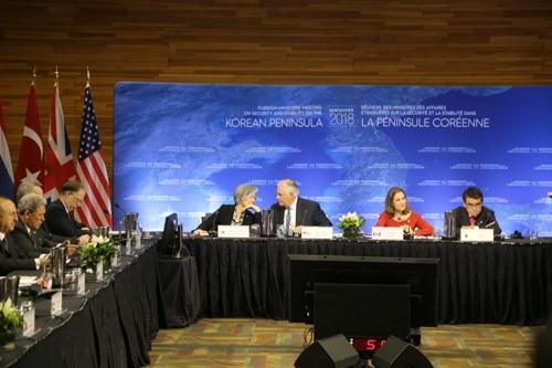 カナダで韓日米外相会談へ