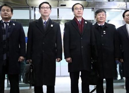 Юг и Север обсуждают участие северокорейских спортсменов в зимней Олимпиаде
