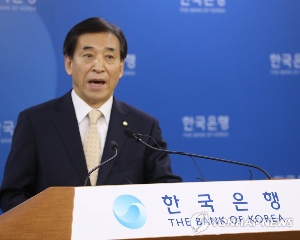 Bank of Korea Governor Lee's comments at news conference