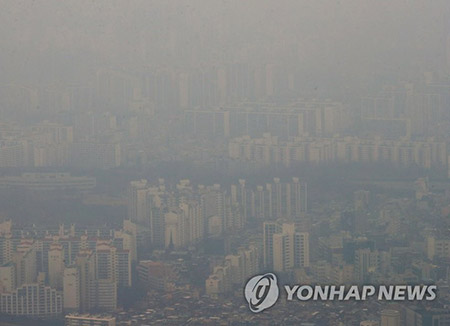 S. Korea Calls for China's Cooperation on Fine Dust Problem