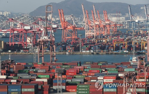 S. Korea's Exports Increase 9.2% during First 20 Days of January