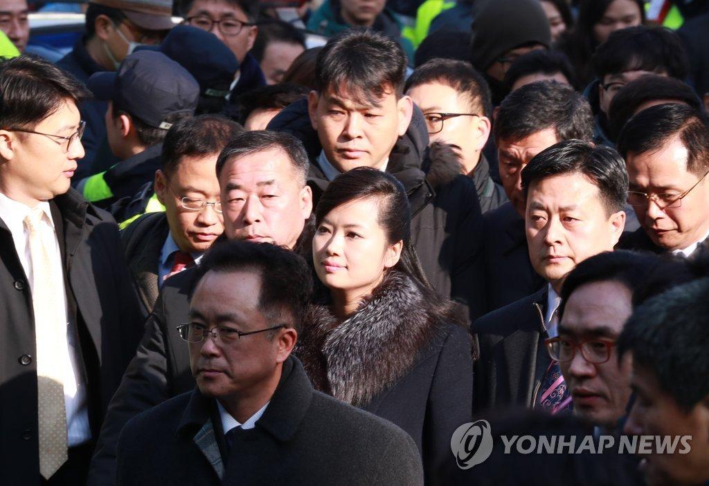 PyeongChang 2018 : une délégation préparatoire du Nord arrive au Sud pour inspecter les lieux des spectacles