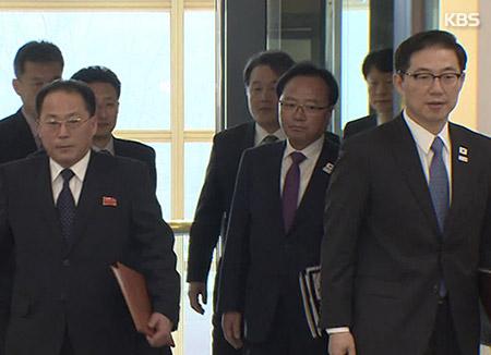 韩国先遣队12人23日赴北韩
