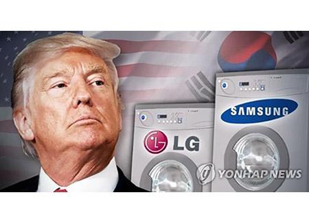 USA verhängen Einfuhrzölle auf Waschmaschinen und Solaranlagen