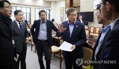 Moon Orders Thorough Post-Disaster Management After Deadly Hospital Fire