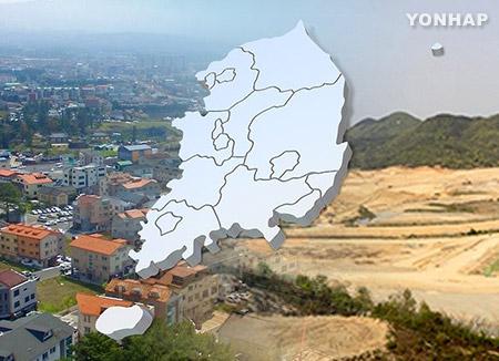 去年の地価上昇率 世宗市がトップ