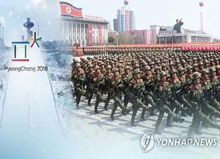 軍事パレード 外国記者招待をキャンセル