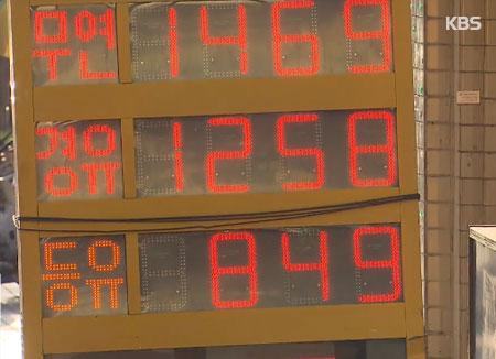 27e semaine consécutive d'augmentation du prix de l'essence en Corée du Sud