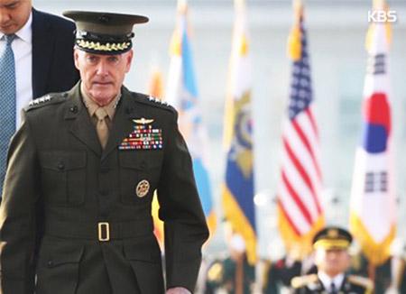 米統参議長、平和的方法追求「不快な戦争になる」