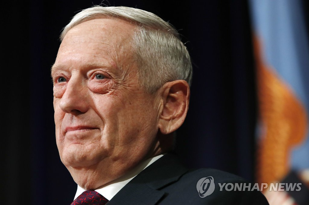 US Defense Chief N. Korea's Outlaw Actions Threaten Global Stability