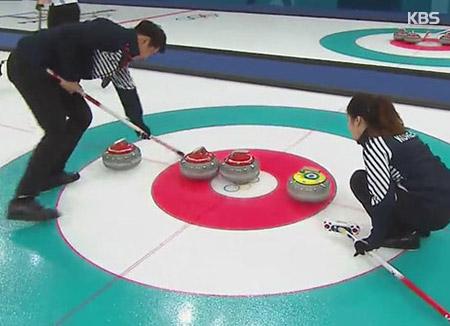 JO de PyeongChang : première victoire de la Corée du Sud au curling