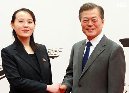 金与正党第1副部長ら 北韓に戻る