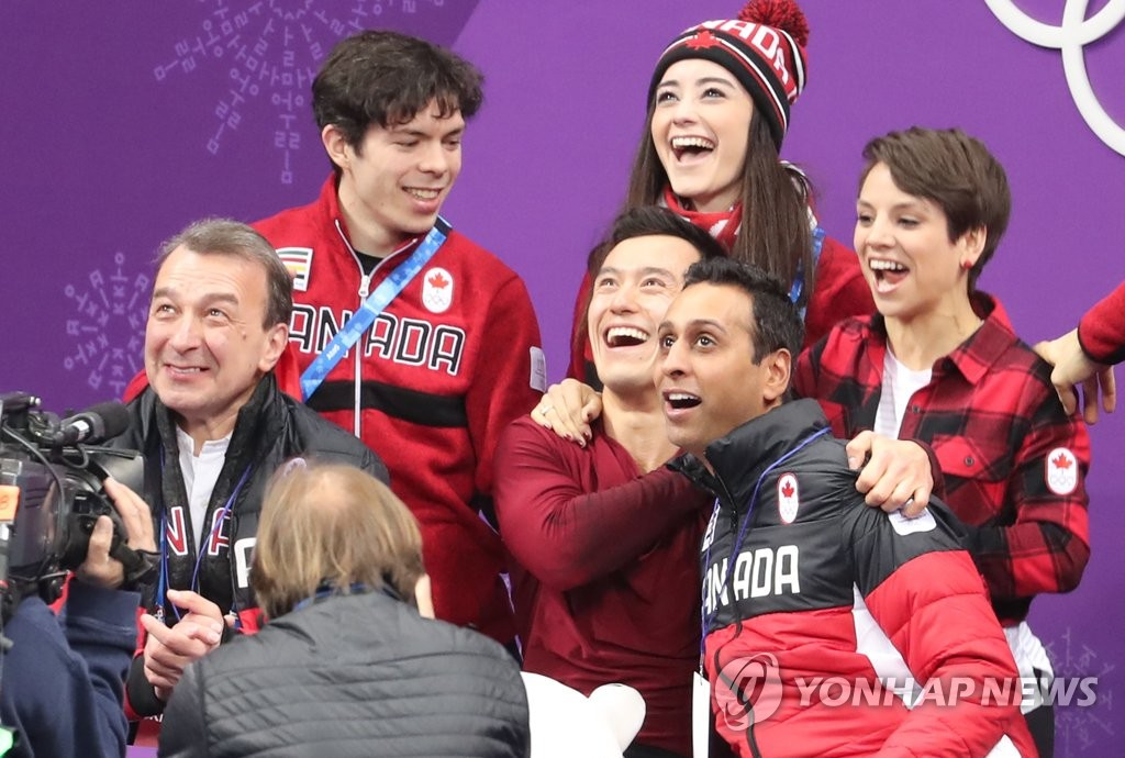 Canada Wins Gold in Team Figure Skating
