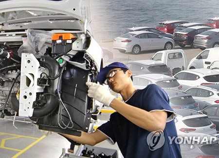 S. Korea's Auto Output Drops for 2nd Year, Still World's 6th Largest