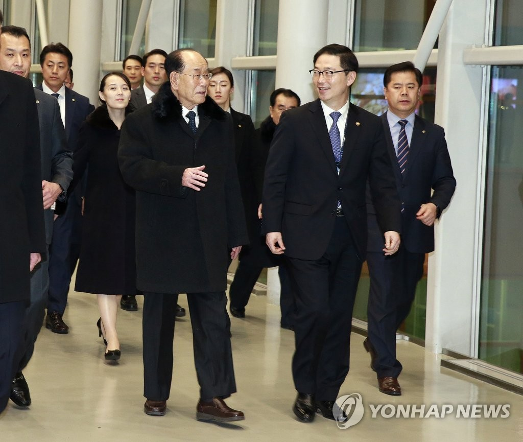 N. Korean High-level Delegation Returns Home after Olympic Tour