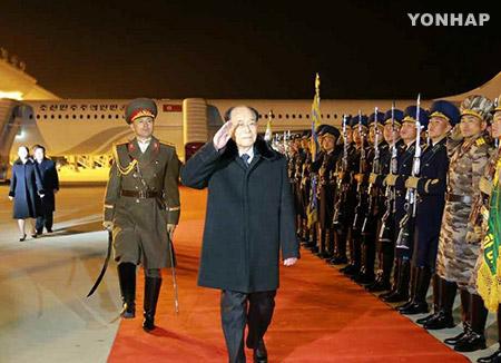 """북한, 고위급 대표단 평양 도착 일제히 보도...""""관계개선 의의있는 계기 돼"""""""