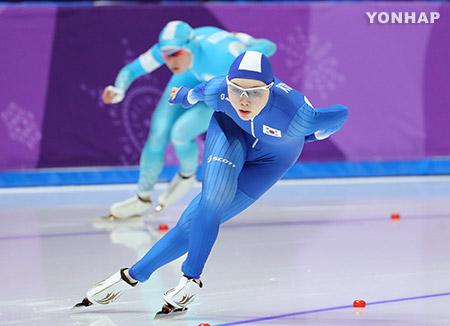[올림픽] 빙속 노선영, 자신의 올림픽 기록 경신…1천500m에서 14위
