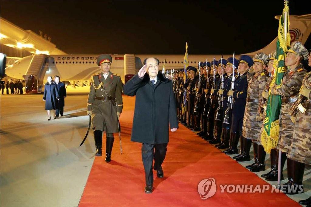 N. Korean Media Report High-Level Delegation's Olympic Tour