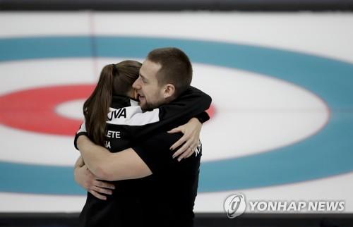 OAR Claim Bronze in Mixed Doubles Curling