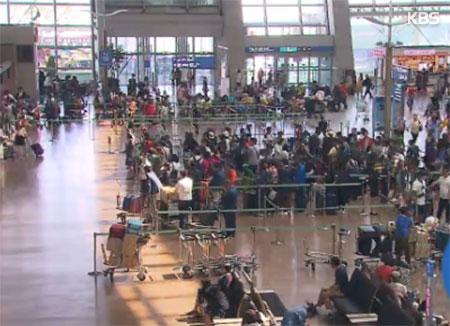 설연휴 김포공항 등 전국 14개 공항 이용객 116만명 전망