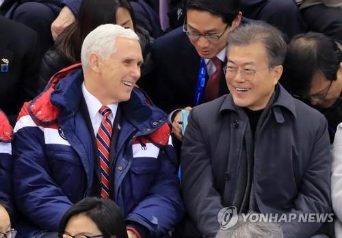 米副大統領 北韓との対話の可能性示唆