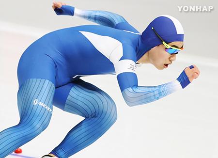 [올림픽] 김민석, 빙속 남자 1,500m '깜짝 동메달'