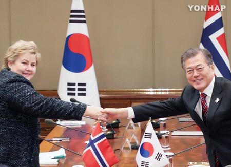 Séoul demande le soutien d'Oslo pour les dialogues Pyongyang-Washington