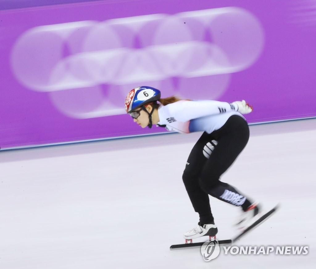 チェ・ミンジョンが金メダル ショートトラック女子1500m