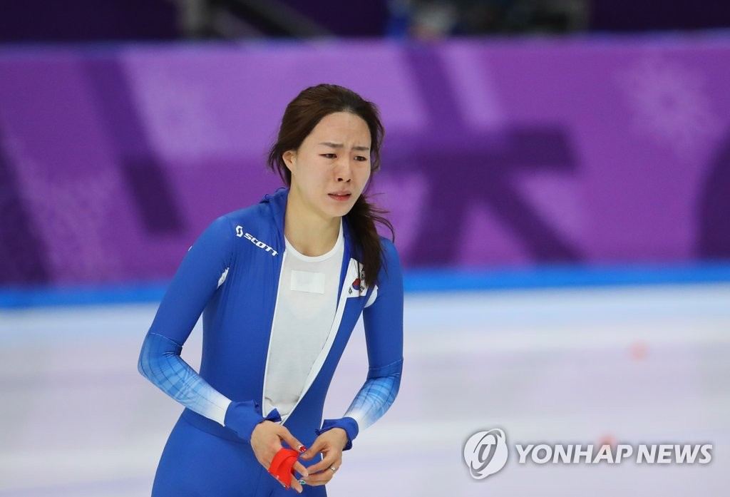 لي سانغ هوى تحرز الميدالية الفضية في سباق التزلج السريع على الجليد