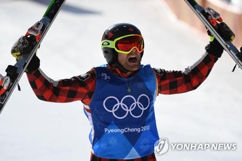 Canada's Leman wins Olympic gold in men's ski cross