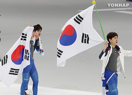 Пхёнчхан-2018: У южнокорейских конькобежцев - серебряная медаль в мужской командной гонке преследования
