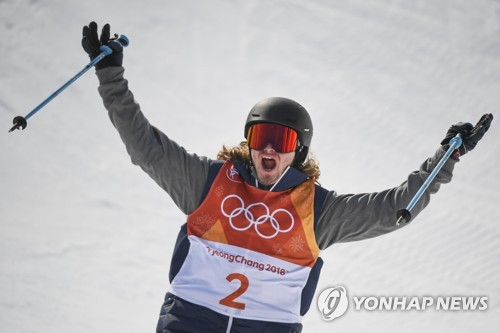 Freestyle skier David Wise successfully defends his gold medal