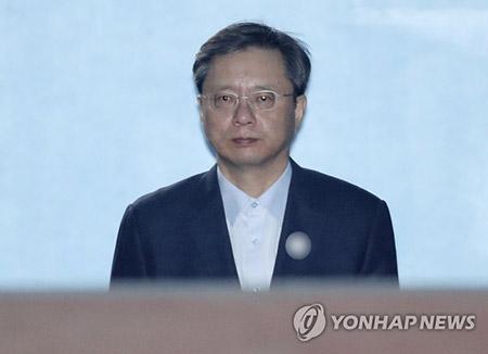 前政権の国政介入事件 元首席秘書官に懲役2年6か月