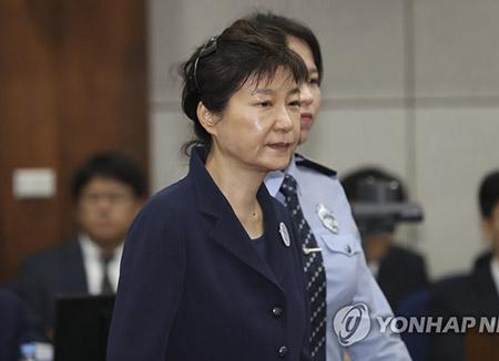 30 ans de prison requis contre Park Geun-hye